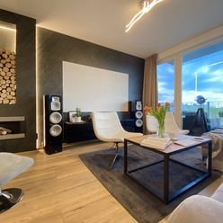 Moderný byt s krásnym výhľadom a biokrbom.