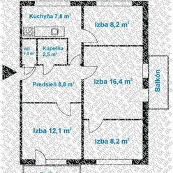 Reality holding+ ponúka Na predaj Košice-Západ . 4 izbový byt -