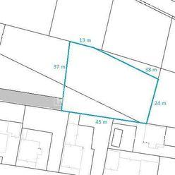 Na predaj stavebný pozemok v Košťanoch nad Turcom o rozohe 1,418 m2