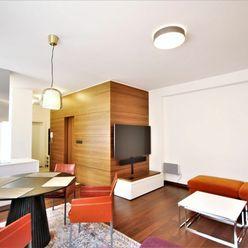PRENÁJOM - 2i luxusný, štýlovo zariadený byt v v centre Bratislavy, BA I.