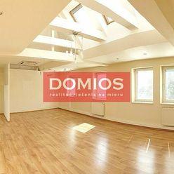 Prenájom klim. 3-izb. bytu (127,80 m2, terasa 42,37 m2, 2. p., 3 miestn., kuchyňa, WC, sprcha, parki