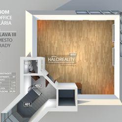 HALO reality - Prenájom, kancelársky priestor Bratislava Nové Mesto, Vinohrady, Koliba, Open Space O