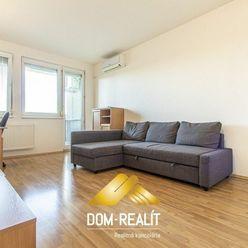 DOM-REALÍT ponúka 2izb byt s balkónom v tichej časti Trnávky, Vrútocká ul.