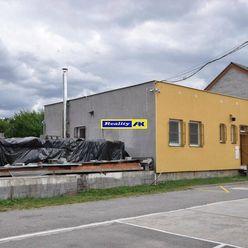 Areál sklady + administratívna budova Košťany nad Turcom