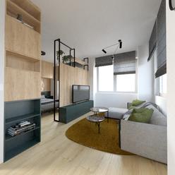 Presvetlený 1i byt s krásnym výhľadom - 43,12 m2