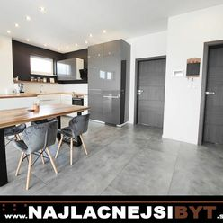 Nadštandartný a zariadený 3i byt v novostavbe + 2 park. miesta , 88m2 s loggiou
