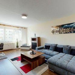 NA PRENÁJOM – Rekonštruovaný a zariadený 3-izbový byt na Sídlisku KVP