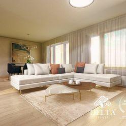 DELTA | Bory Bývanie 2, nový 4 - izbový byt na najvyššom poschodí s terasou , Lamač / Devínska Nová
