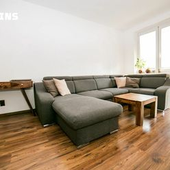 PREDAJ – svetlý, útulný 2-izbový byt s balkónom, Herlianska, Ružinov