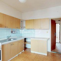 Na predaj 3 izb. byt v pôvodnom stave  Bratislava (70,63 m2) Karlova Ves - Dlhé diely