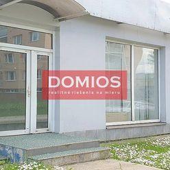 Prenájom obchodných priestorov (140,00 m2, príz., výklad, parking)