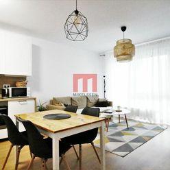 Na prenájom moderne zariadený 2 izbový byt s veľkou lodžiou a garážovým státím v projekte NUPPU
