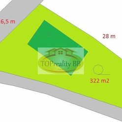 Predaj, malý rodinný dom s pozemkom 322 m2 Banská Bystrica  - cena 138 000 €