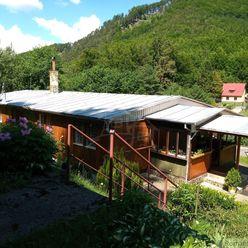 Rekreačná chata  Ráztočno vzdialená len 15 minút od Prievidze v horskej  lokalite Remata na predaj