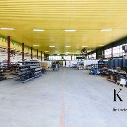Výrobná hala, Trenčín, Kasárenská ulica - 1 225 m2, strážený objekt