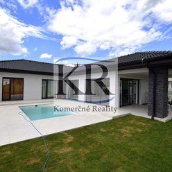 Luxusná novostavba 4izb. rodinného domu 162m2 s bazénom pre náročného klienta