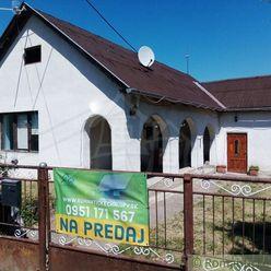 Menší dom vhodný na rekonštrukciu