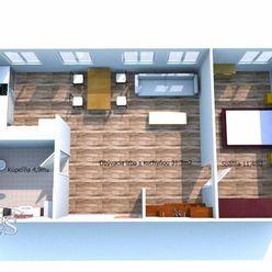 BEDES - PRENÁJOM | Prerobený 2 izbový byt v Novákoch