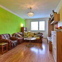 Na predaj 3 izbový byt s loggiou Poprad / Juh 3, nepriechodné izby