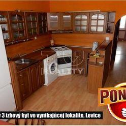Nádherný 3 izbový byt vo vynikajúcej lokalite. Levice, 90 m2