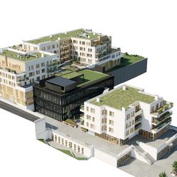 2. Izb. byt v Nitre - projekt ORBIS (oproti OC MLYNY)