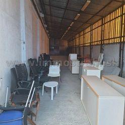 Skladový priestor 120 m2 na prenájom v areáli na Ul.Stará Vajnorská