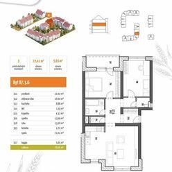(D7.3.6) 3-izbový byt s loggiou - rezidenčný projekt POLIANKY - Zavar