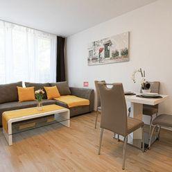 HERRYS - Na prenájom kompletne zariadený 2 izbový apartmán s loggiou v novostavbe Nový Ružinov