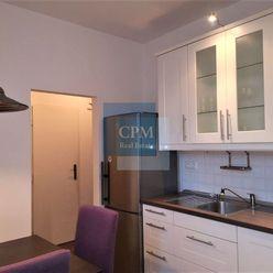 Na prenájom zariadený 2-izbový byt s balkónom na Vajnorskej ( Dog/ Pet  friendly ).