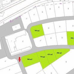 Poprad - Spišská Sobota ,predaj stavebné pozemky od 586 m2 po 1249 m2.