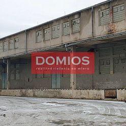 Prenájom výrob. priestorov (316 m2, nakl. rampa, kancel., WC, parking)