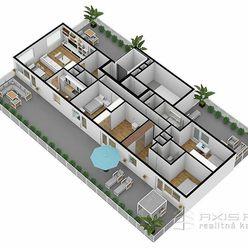 AXIS REAL:: 5-izbový byt (7S) NOVOSTAVBA, Poprad, Suchoňova ulica