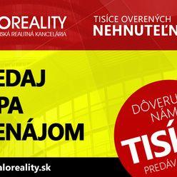 HALO reality - Kúpa pozemok pre rodinný dom Poprad