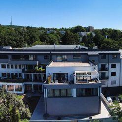 PENTHOUSE 212 m2 s veľkou terasou 176m2 a tromi parkovacími miestami Kramáre