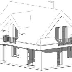 NOVOSTAVBA – rodinný/rekreačný dom/ chata, 5- izbový