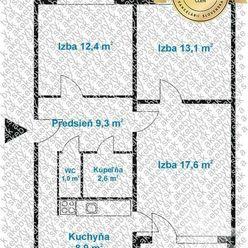 Na predaj 3i byt + loggia, Bratislava Dúbravka, ul Kpt.Rašu
