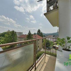 Svetlý 2-izbový byt s balkónom na ulici E.M.Šoltésovej, Zvolen