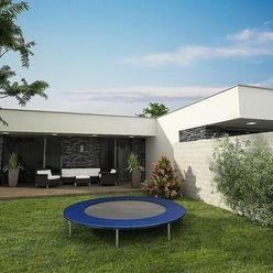 NEO- moderný rodinný dom v novej časti v obci Častá v radovej zástavbe