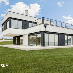 4,5i RD ꓲ 164 m2 ꓲ NITRA - LUŽIANKY ꓲ moderná vila s výhľadmi, ktoré neomrzia
