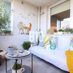 TOP! MODERNÝ 2 izbový byt vo vyhľadávanej lokalite v Bratislavskej mestskej časti Ružinov.
