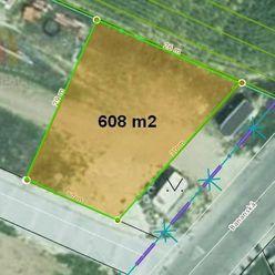 Stavebný pozemok 608 m2 vedľa kúpeľov Piešťany - Banka