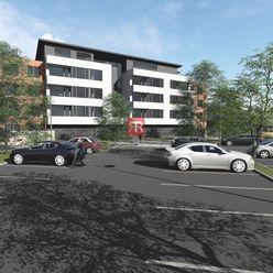 Na predaj 2 izbový byt s lodžiou v novom rezidenčnom projekte Byty Bystrická 2