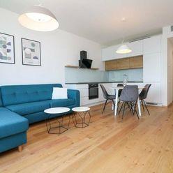 PRENÁJOM - Nový vkusne zariadený 2-izbový byt na 9. poschodí, SKY PARK