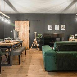 Zaujímavý štýlový kompletne zariadený 3-izbový byt v Stupave na Slovenskej ul.
