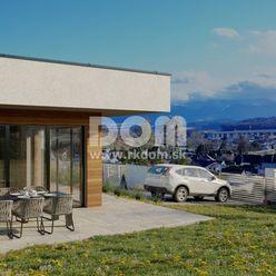 Moderný nízkoenergetický dom na slnečnom pozemku v Bitarovej