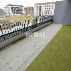 Pekný 2i byt, NOVOSTAVBA, TERASA 20 m2, Fialová ul., SLNEČNICE