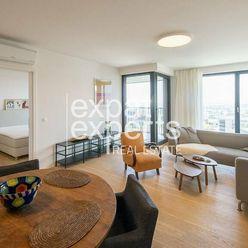 Dizajnový 2i byt, 57m2, lodžia, parkovanie, výhľad, Gansberg