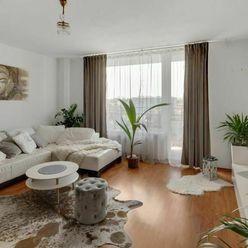 Veľký 3 izbový byt s výhľadom v Bratislave - Nové Mesto