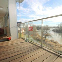 HERRYS, Prenájom 3 izbového bytu s balkónom a výhľadom na Dunaj