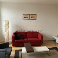 Prenájom slnečný 2 izbový byt s krbom, Vajnorská ul., Bratislava III Nové Mesto